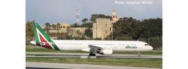 herpa 533959 Alitalia Airbus A321 EI-IXH Piazza della Signoria GUBBIO | Flugzeugmodell 1:500 online kaufen