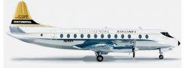 herpa 554398 Continental Airlines Vickers Viscount 800 Flugzeugmodell 1:200 online kaufen