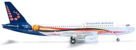 herpa 556446 A320 Brussels Air Red Devils WINGS 1:200 online kaufen