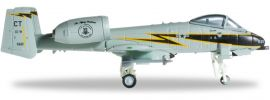 "herpa 556637 A-10A USAF 118th FS ""Black Lightning"" 