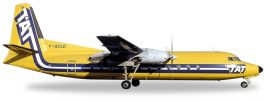 herpa WINGS 558594 Fairchild Hiller FH-227 TAT European Airlines Flugzeugmodell 1:200 online kaufen