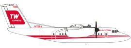 herpa 559041 De Havilland Canada DHC-7 Trans World Express | WINGS 1:200 online kaufen