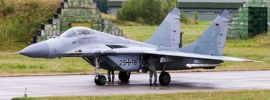 herpa 570688 Luftwaffe Mikoyan MiG-29A Fulcrum Jagdgeschwader 73 | Flugzeugmodell 1:200 online kaufen