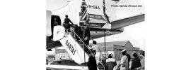 herpa 571005 Historic stairs Qantas Flugzeugtreppe | Fahrzeuge 1:200 online kaufen
