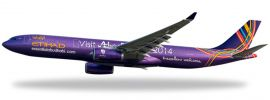 herpa 610568 A330-200 Etihad 'Visit Abu Dhabi' Snap-Fit WINGS 1:200 online kaufen