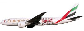 herpa 611060 B777-200LR Emirates-Arsenal Snap-Fit | WINGS 1:250 online kaufen