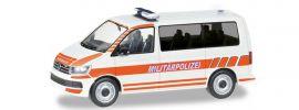 herpa 700726 VW T6 Bus Militärpolizei Schweiz Militärmodell 1:87 online kaufen
