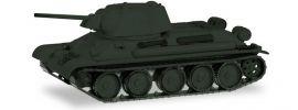 herpa 745567 Kampfpanzer T34-76 undekoriert Militärmodell 1:87 online kaufen