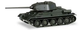 herpa 745574 Kampfpanzer T34-85 undekoriert Militärmodell 1:87 online kaufen