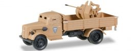 herpa 745789 Opel Blitz LKW gepanzert mit Kanone | Militär 1:87 online kaufen