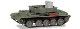 herpa Military 745895 Werkstattpanzer T-54 mit Fässer und Laufwerken Militärmodell 1:87 online kaufen