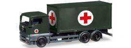 herpa 746250 MAN TGA XL Koffer Sanitäter Bundeswehr | Militär 1:87 online kaufen