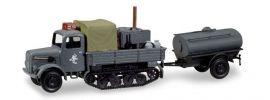 herpa 746328 Magirus Maultier Feldküche mit Wassertankanhänger Ostfront Militärmodell 1:87 online kaufen