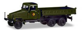 herpa 746571 IFA G5 Dreiseitenkipper NVA Militärmodell 1:87 online kaufen