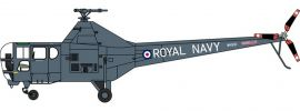 OXFORD 8172WD001 Westland Dragonfly Royal Navy Yorkshire Air Museum Flugzeugmodell 1:72 online kaufen