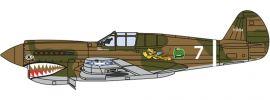 herpa OXFORD 81AC074 Curtis Warhawk P40 Flugzeugmodell 1:72 online kaufen