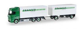 herpa 921671 Mercedes-Benz Actros Bigspace KofferHängerzug TRAVECO LKW-Modell 1:87 online kaufen