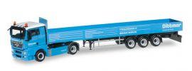 herpa 914895  MAN TGX XL Pritschen-Sattelzug Dittmar LKW-Modell 1:87 online kaufen