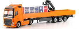 herpa 917230 Volvo FH Gl. Pritschen-Sattelzug | IAA-Messemodell | LKW-Modell 1:87 online kaufen