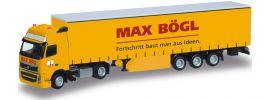 herpa 918800 Volvo FH GL 02 Sattelzug MAX BÖGL | MC-Exclusivmodell 1:87 online kaufen