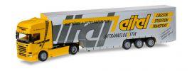 herpa 919227 Scania R TL 2013 Eurokoffer-Sattelzug Eitel LKW-Modell 1:87 online kaufen