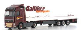 herpa 920186 Volvo FH GL Kühlkoffer-Sattelzug Galliker LKW-Modell 1:87 online kaufen