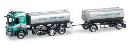herpa 921688 Mercedes-Benz Actros L08 BenzinTankHängerzug Gasperlmayr LKW-Modell 1:87 online kaufen