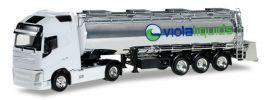 herpa 922685 Volvo FH GL XL Lebensmitteltank-Sattelzug Viola Trans LKW-Modell 1:87 online kaufen
