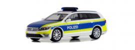 herpa 932691 VW Passat Variant B8 GTE Polizei Hannover Blaulichtmodell 1:87 online kaufen