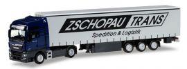 herpa 922838 MAN TGX XXL Euro6 Gardinenplanen-Sattelzug Zschopau Trans LKW-Modell 1:87 online kaufen