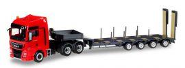 ausverkauft | herpa 925211 MAN TGX XXL Semitieflade-Sattelzug MAN exclusive LKW-Modell 1:87 online kaufen
