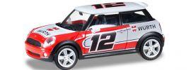 herpa 925549 Mini Cooper S Würth INter Werbung GmbH Automodell 1:87 online kaufen