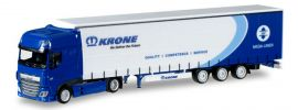 herpa 925716 DAF XF SSC Euro6 Gardinenplanen Sattelzug KRONE LKW Modell 1:87 online kaufen
