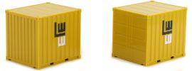 herpa 926126 Container-Set Leonhard Weiss 10ft zwei Stück | Materialcontainer 1:87 online kaufen