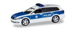 herpa 929356 VW Passat Variant B8 Bundespolizei Blaulichtmodell 1:87 online kaufen