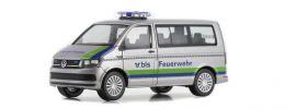 herpa 931076 VW T6 Bus BLS AG Feuerwehr  Blaulichtmodell 1:87 online kaufen
