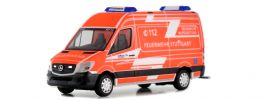 herpa 931335 Mercedes-Benz Sprinter 2013 KEF-T Feuerwehr Stuttgart Blauchlichtmodell 1:87 online kaufen
