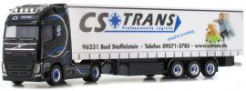 herpa 931519 Volvo FH GL XL Gardinenplanen-Sattelzug | CS Trans LKW-Modell 1:87 online kaufen