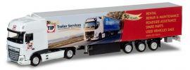 herpa 932370 DAF XF SSC Kühlkoffersattelzug TIP Trailer Service LKW-Modell 1:87 online kaufen