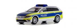 herpa 932707 VW Passat Variant B8 GTE Polizei Gifhorn Blaulichtmodell 1:87 online kaufen