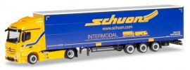 herpa 933414 Mercedes-Benz Actros Streamspace Jumbogardinenplanensattelzug Schuon LKW-Modell 1:87 online kaufen