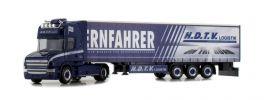 herpa 933919 Scania Hauber Gardinenplanensattelzug H.D.T.V. Fernfahrer-Truck IAA 2018 LKW-Modell1:87 online kaufen