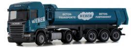 herpa 936682 Scania R HL Rundmulden-Sattelzug Weber LKW-Modell 1:87 online kaufen