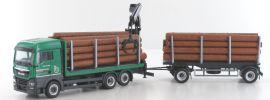 herpa 937597 MAN TGX XLX Euro 6 Holztransporter-Hängerzug | MC-Vedes | LKW-Modell 1:87 online kaufen
