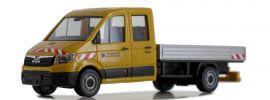 herpa 939003 MAN TGE Doppelkabine mit Pritsche Leonhard Weiss Automodell 1:87 online kaufen