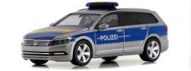 herpa 940351 VW Passat Variant B8  Polizei Lübeck  Blaulichtmodell 1:87 online kaufen
