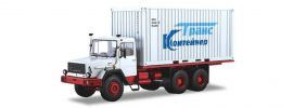 herpa 83SSM1288 Magirus 290D26L Container-LKW LKW-Modell 1:43 online kaufen