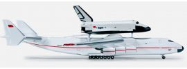 herpa 518895 Antonov AN-225 & Buran Orbiter Shuttle Flugzeugmodell 1:500 online kaufen