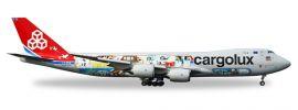 herpa 558228 Boeing 747-8F Cargolux 45th Anniversary City of Redange-sur-Attert Flugzeugmodell 1:200 online kaufen