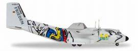 herpa 559201Transall  C-160 Luftwaffe LTG 61 50 Jahre Flugzeugmodell 1:200 online kaufen